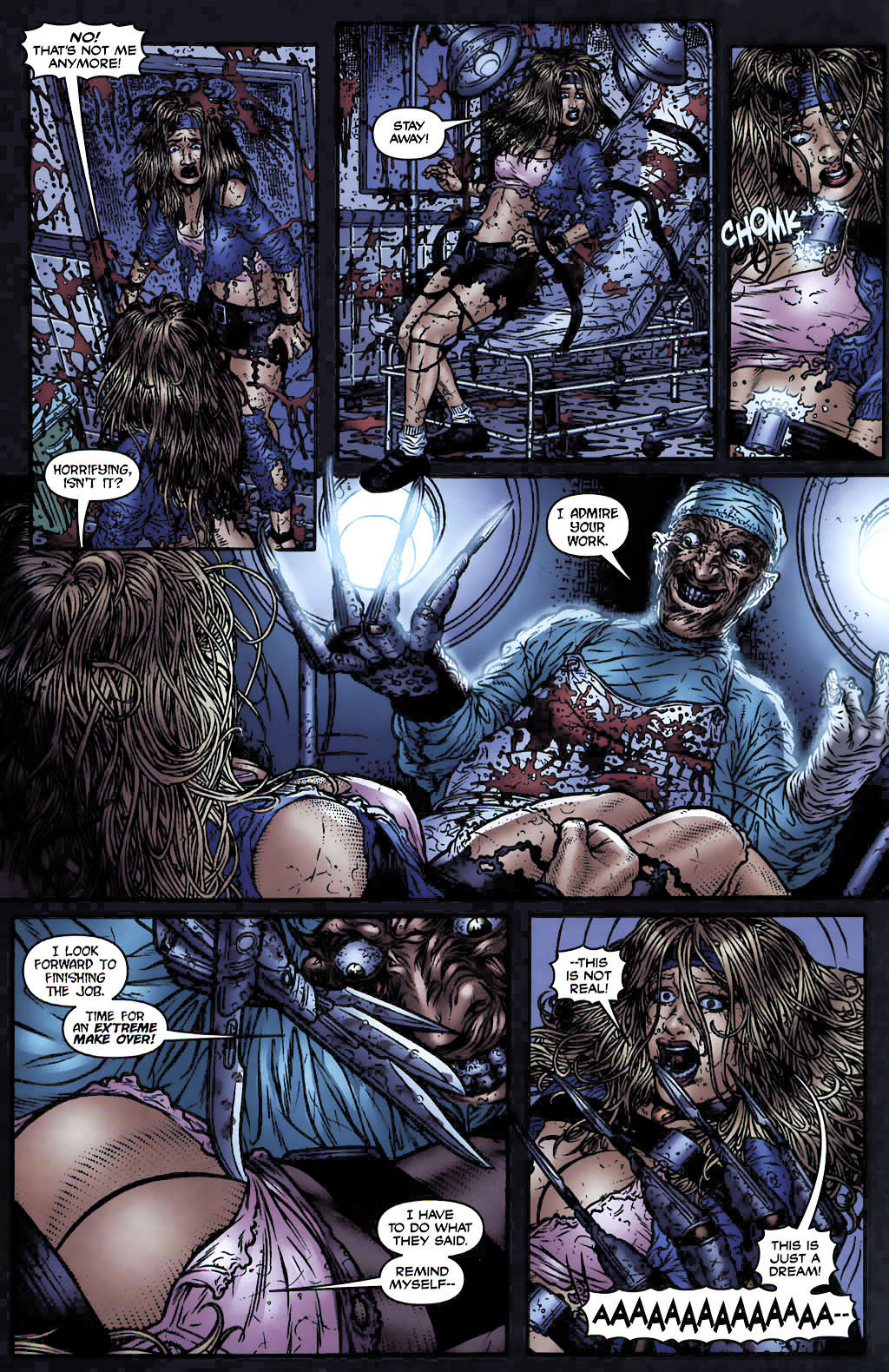 Avatar Porno Pelicula 2005-2006] freddy krueger – avatar press – comicsvortex